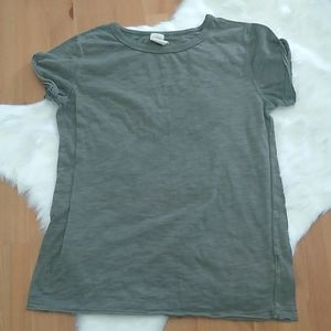 We the Free olive green tee shirt - size small